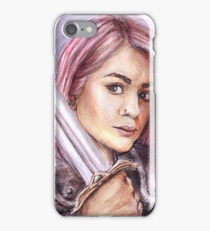 Warrior Chick iPhone Case/Skin