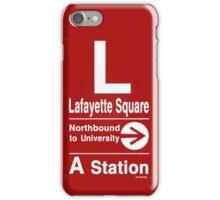 Lafayette Square Northbound iPhone Case/Skin