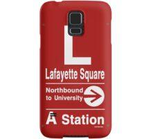 Lafayette Square Northbound Samsung Galaxy Case/Skin