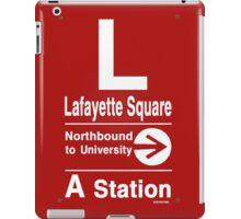 Lafayette Square Northbound iPad Case/Skin