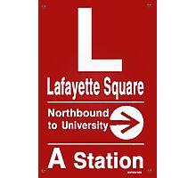 Lafayette Square Northbound Photographic Print