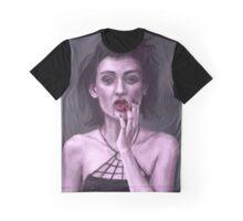 Vampire Girl Graphic T-Shirt