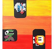 Dig Dug (Paint 'N' Beads) Photographic Print