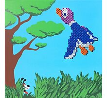 Duck Hunt Purple (Paint 'N' Beads) Photographic Print