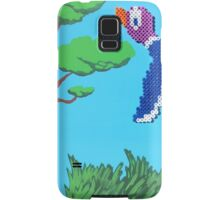 Duck Hunt Purple (Paint 'N' Beads) Samsung Galaxy Case/Skin