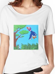 Duck Hunt Purple (Paint 'N' Beads) Women's Relaxed Fit T-Shirt