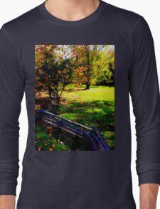 Zig Zag Fenced 1.1 Long Sleeve T-Shirt