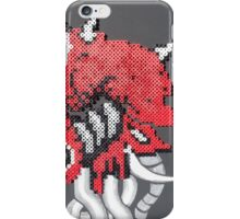 Mother Brain (Paint 'N' Beads) iPhone Case/Skin