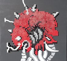Mother Brain (Paint 'N' Beads) by christiantyner