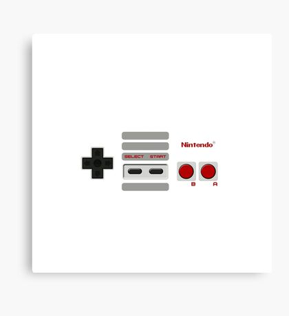 Nintendo NES Gamepad Canvas Print