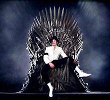 Michael Jackson - Game of Thrones - Iron Throne by zenoconor