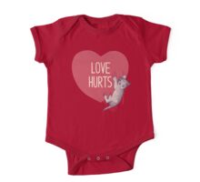 Love Hurts One Piece - Short Sleeve