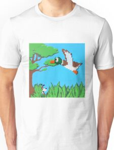 Duck Hunt Brown (Paint 'N' Beads) Unisex T-Shirt