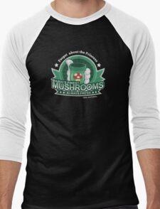 Mario's Finest Mushrooms Men's Baseball ¾ T-Shirt