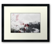 Winter Bloom Framed Print