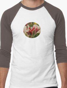 Mountain Flower - JUSTART © Men's Baseball ¾ T-Shirt