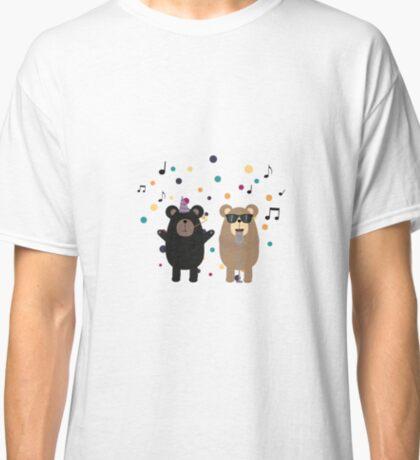 Party Bear music Classic T-Shirt