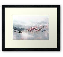 Foggy Dreams Framed Print