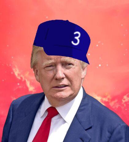 Trump The Rapper Sticker