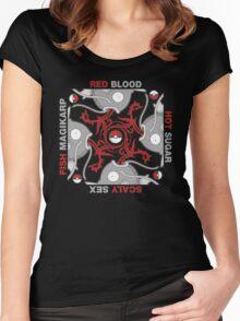 Blood Sugar Sex Magikarp - Black Women's Fitted Scoop T-Shirt