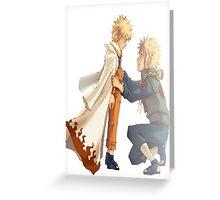 Naruto Greeting Card
