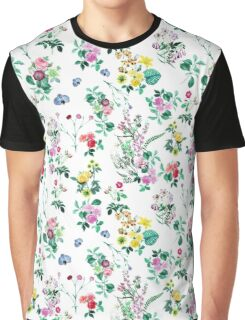 Flower wallpaper Graphic T-Shirt