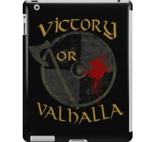 victory or valhalla (3) iPad Case/Skin