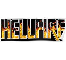 Hellfire (Genesis Title Screen) Poster