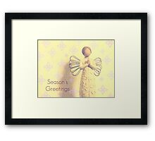 Among the Angels   - JUSTART ©  Framed Print
