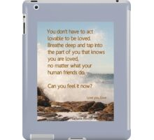 Breathe Deep iPad Case/Skin