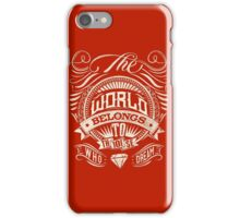 The World Belongs To Those Who Dream iPhone Case/Skin