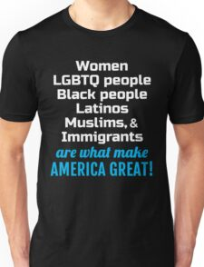 Womens March - Immigrants make America Great Unisex T-Shirt