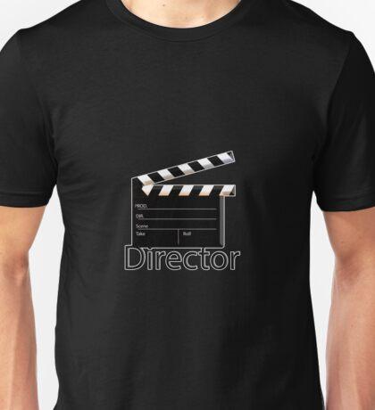 Director- film clapperboard Unisex T-Shirt