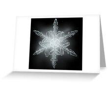 Single Snowflake Greeting Card