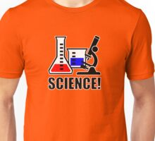 Excitement for Science! Unisex T-Shirt