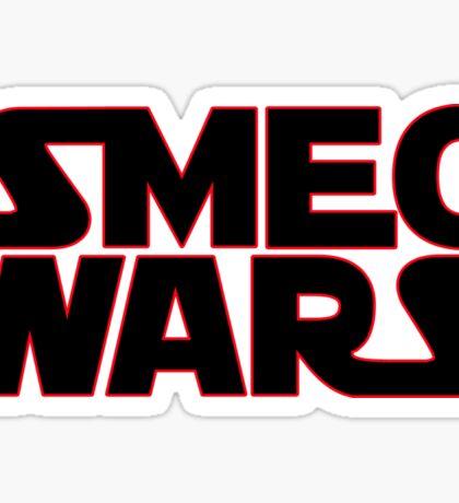 SMEG WARS [RED DWARF] Sticker