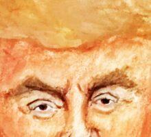 Devil Donald Sticker