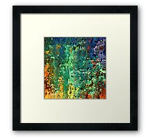 Contemporary landscape by rafi talby   Framed Print