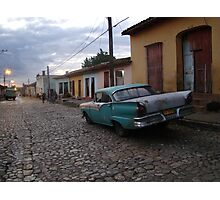 Cuban Cobbles and Classics  Photographic Print