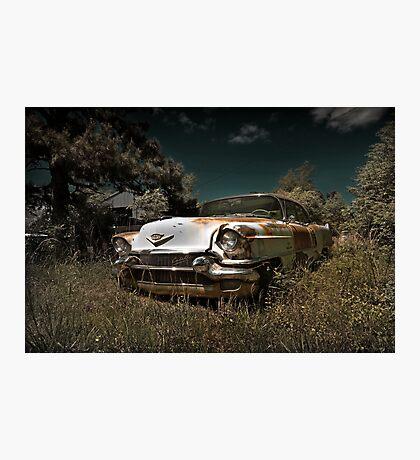 Abandoned 1956 Cadillac Photographic Print