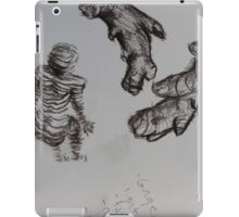 sketch book ginger body iPad Case/Skin