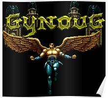Gynoug (Mega Drive Title Screen) Poster