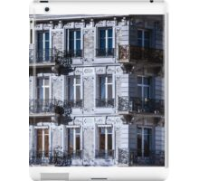 Strasbourg street infrared view, cityscape, France iPad Case/Skin