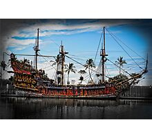 The Black Pearl Photographic Print