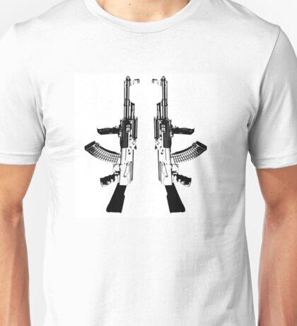 AK 47 BLACK Unisex T-Shirt