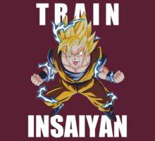 Train Insaiyan - Goku by BlueBumper