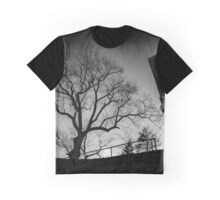 Spooky Tree | Sleepy Hollow Cemetery, New York Graphic T-Shirt