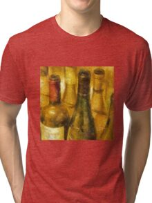 Wine Bottles Tri-blend T-Shirt