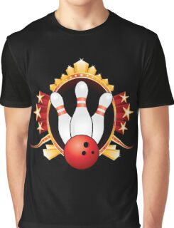 Bowling Graphic T-Shirt