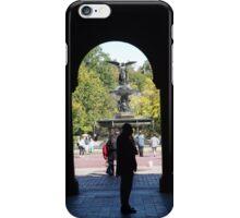 Bethesda Fountain, Central Park, New York City iPhone Case/Skin